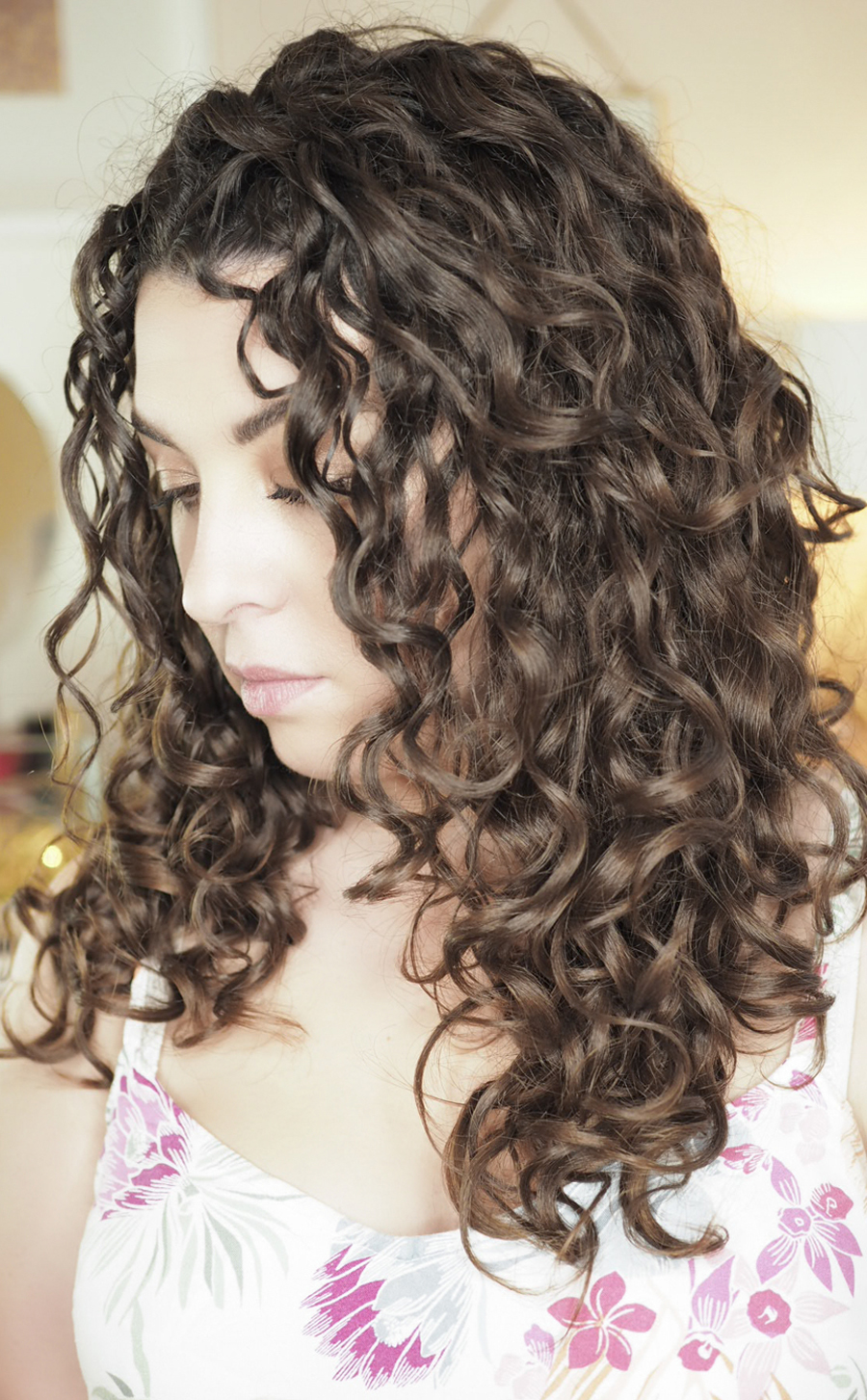 curly girl blog