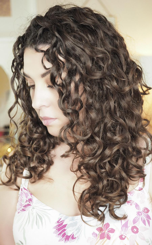 curly girl blog