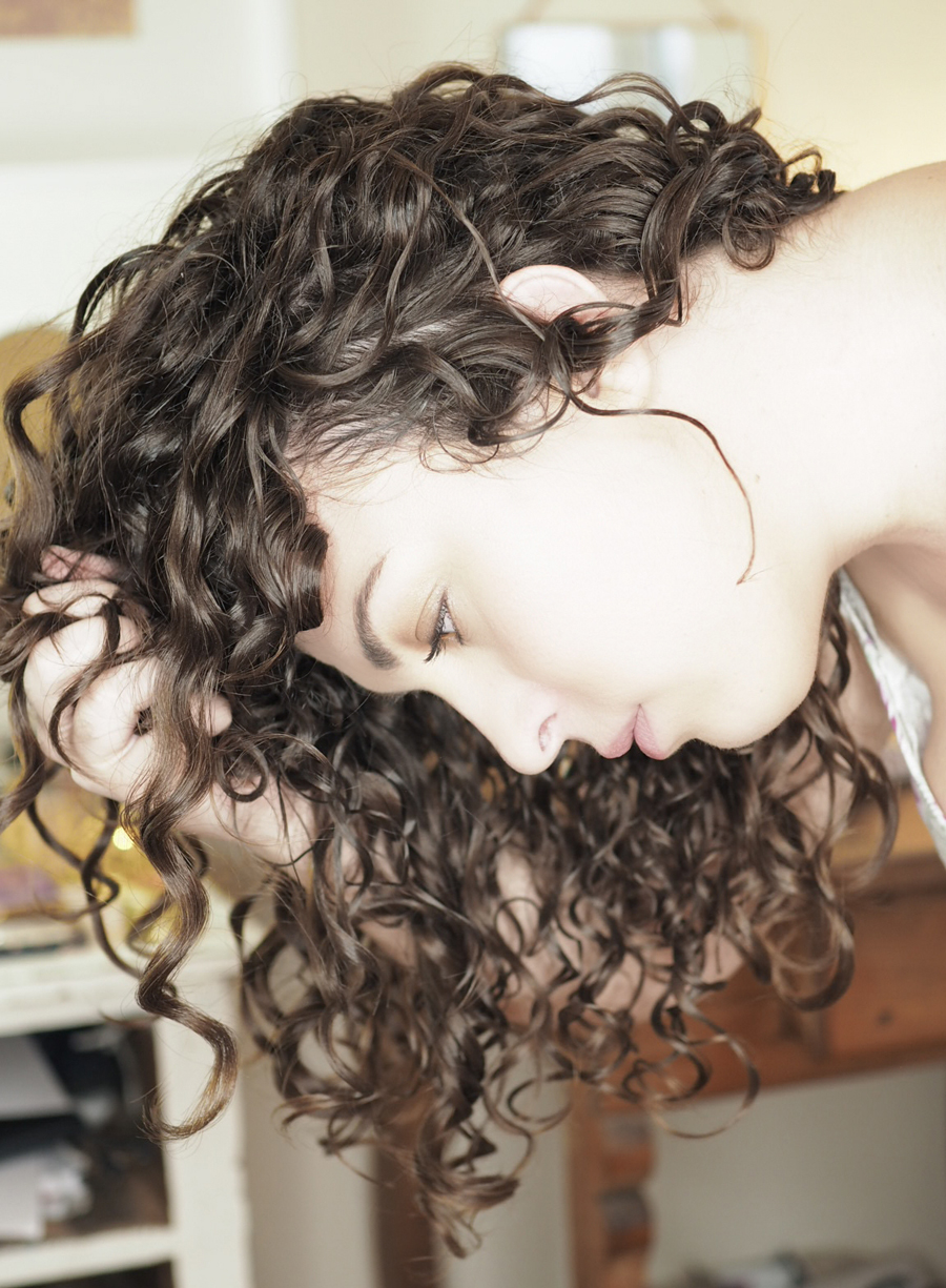 curly girl method sotc technique