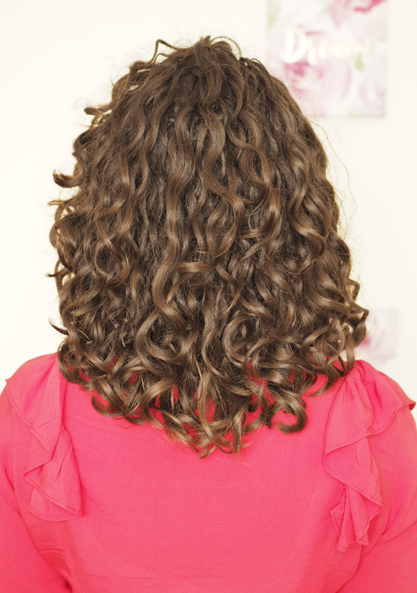 shoulder length naturally curly hair cut