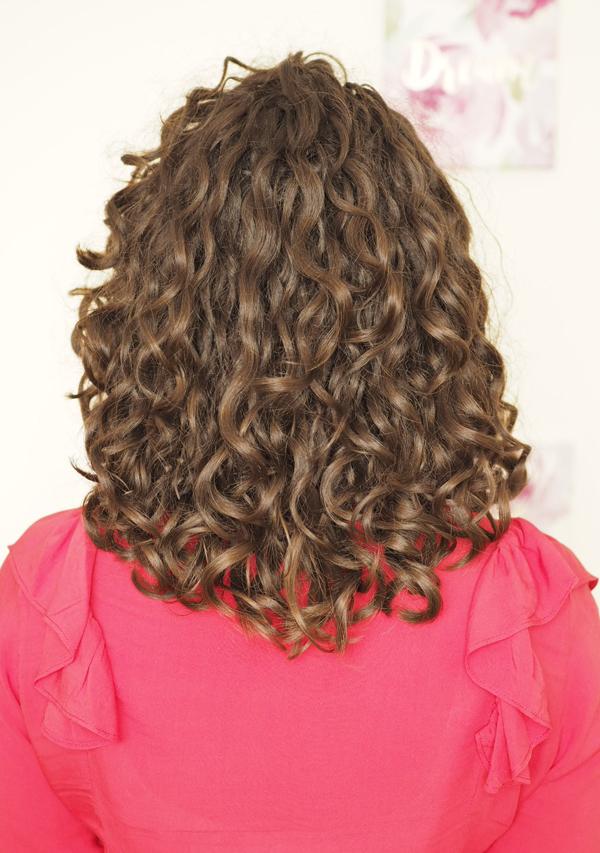 shoulder length naturally curly hair cut