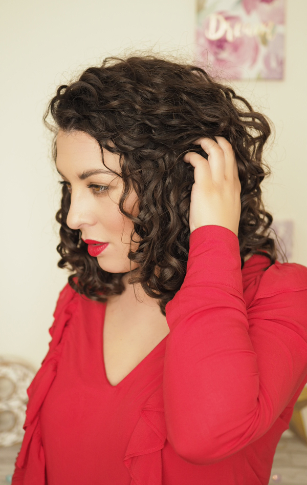 curly hair cut curl by curl