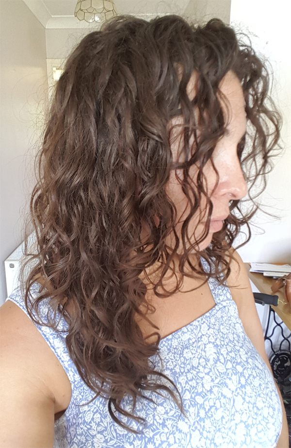 Curly Cailín 2 months of the curly girl method