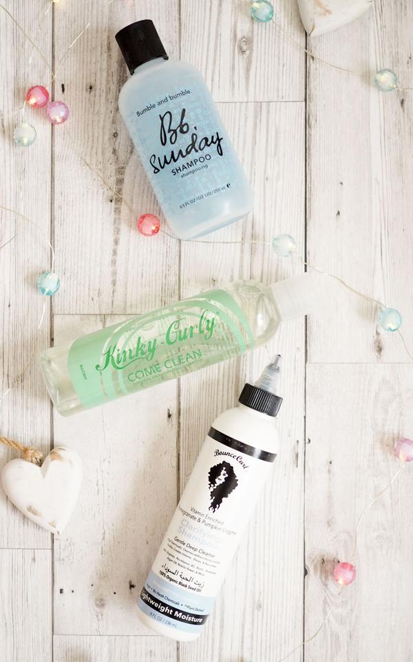curly girl clarifying shampoos