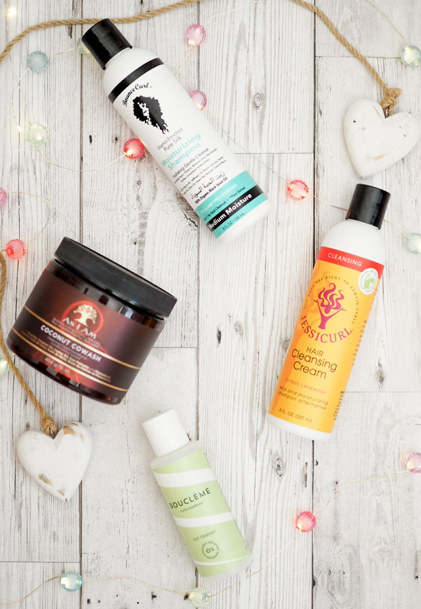 how to build a curly girl hair routine cleansers
