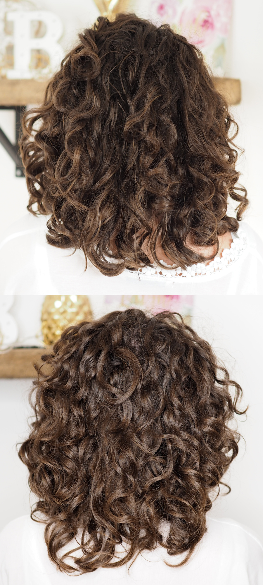 DIY Cut for Shape & Volume  Curly Cailín