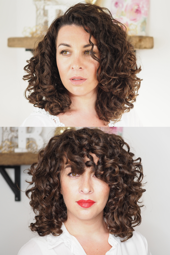 Diy Cut For Shape Volume Curly Cailn