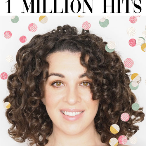 celebrating 1 million hits curly cailin