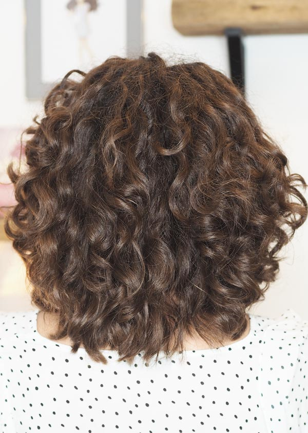 curly cailin diy trim curly girl method