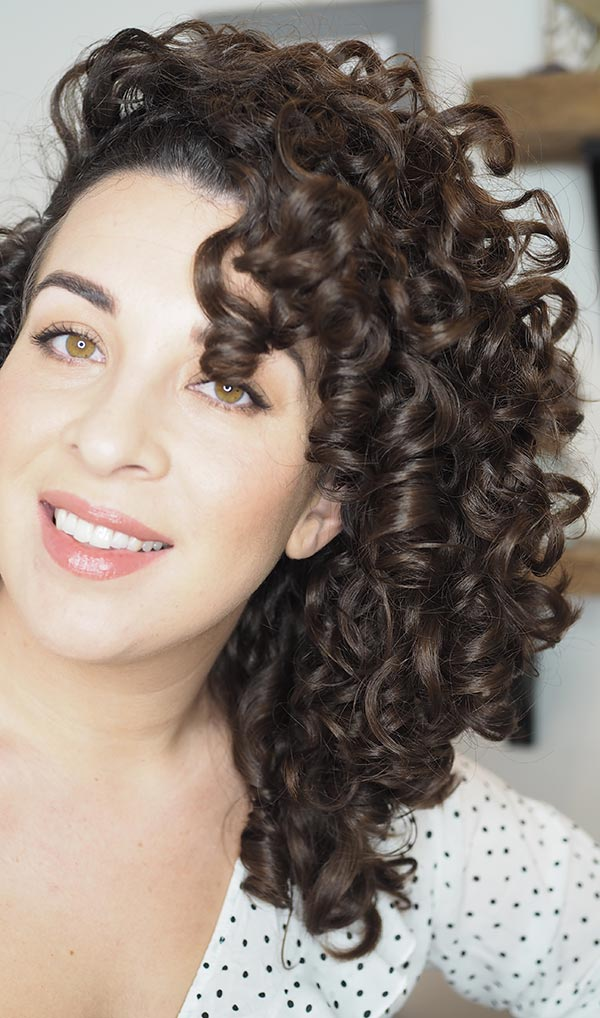 curly cailin curly girl method