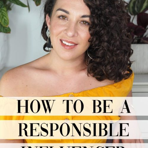 how to be a responsible influencer in the curl community