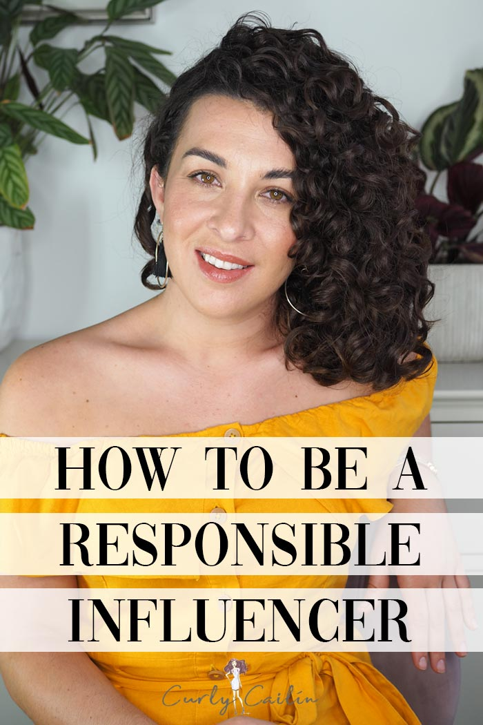 How to be a Responsible Influencer