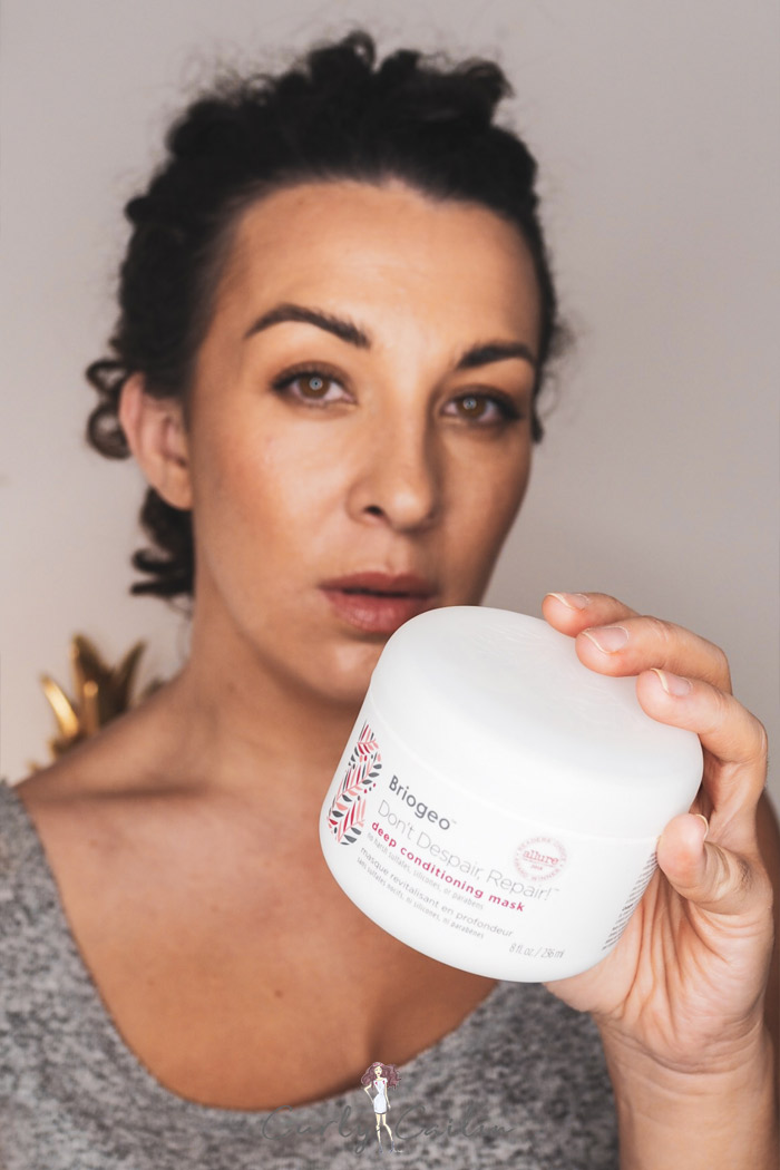 why I'm no longer using Briogeo Don't Despair Repair! Deep Conditioning Mask Curly Girl Method