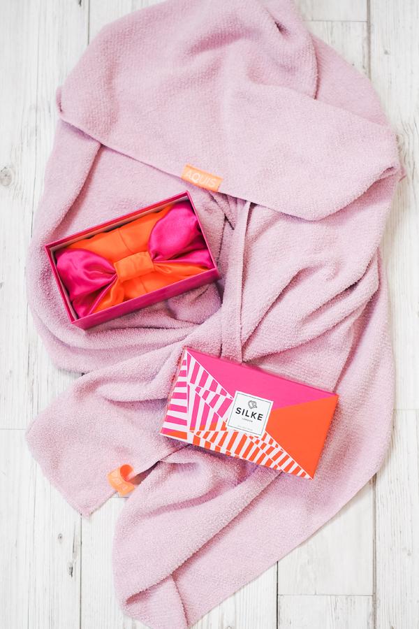 aquis hair towel uk look fantastic silke london hair wrap turban