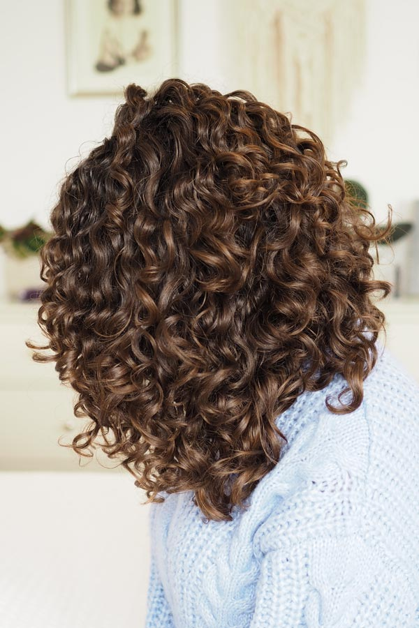 curly girl method 3a curls