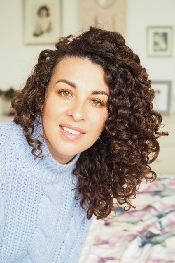 curly hair blog