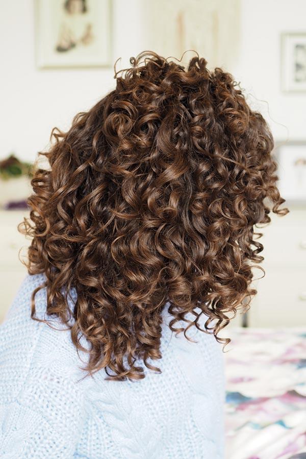 curly girl method medium porosity hair