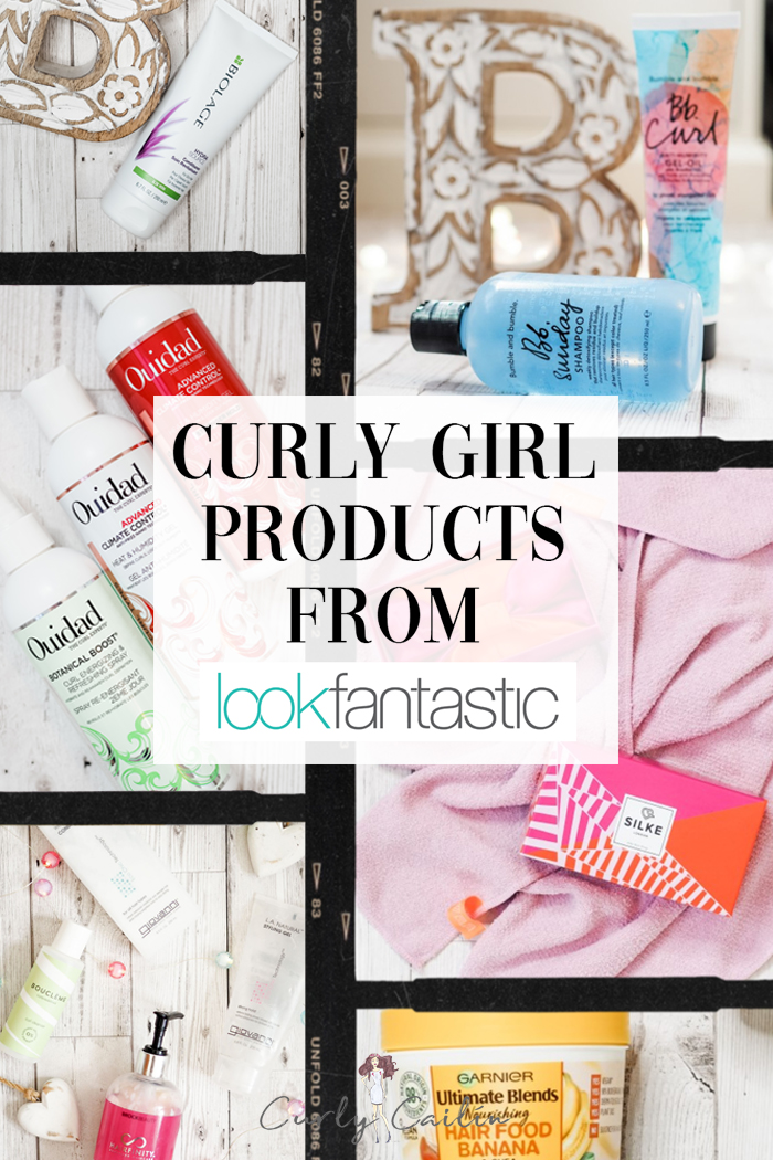 curly girl products from look fantastic