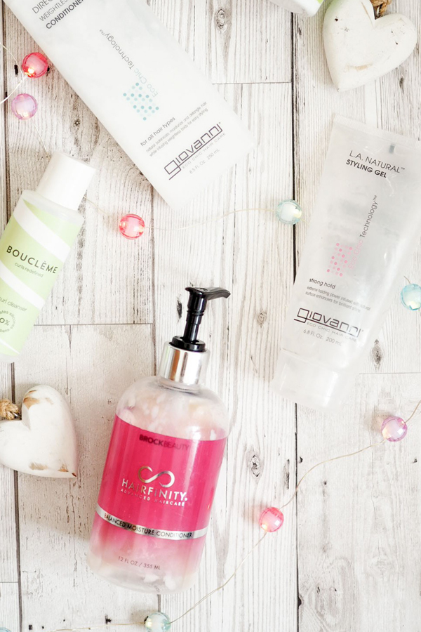curly girl friendly products look fantastic