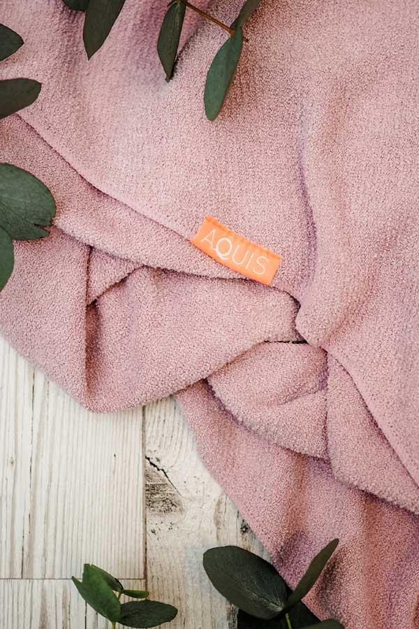aquis lisse luxe curl towel