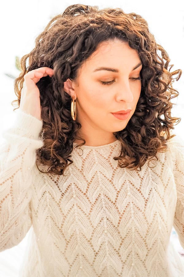 curly cailin CG beauty