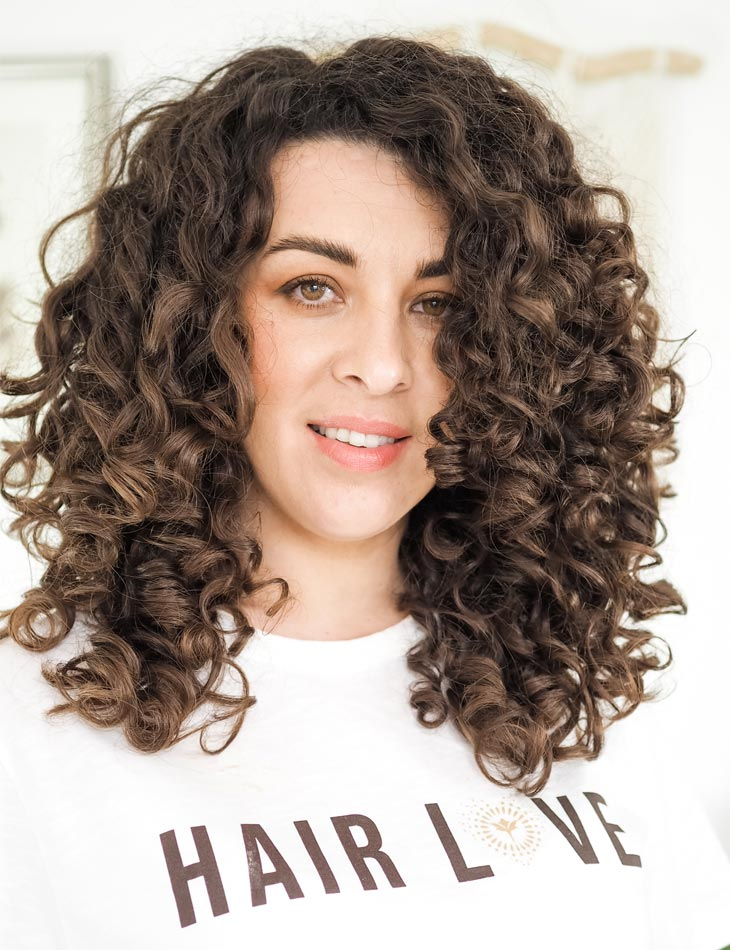 Curly Cailin Full Washday Routine for Maximum Volume using Innersense Organic Beauty