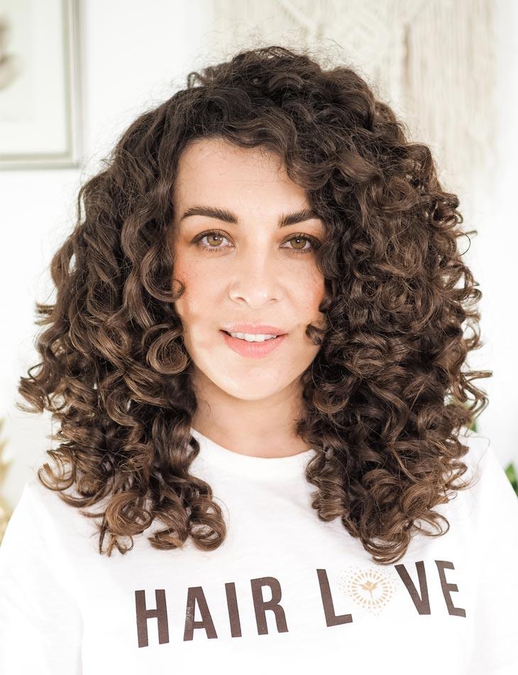 Innersense Organic Beauty Maximum Volume for Curly Hair Curly Cailin