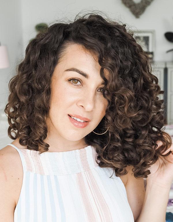Curly Cailin LMG Method Innersense