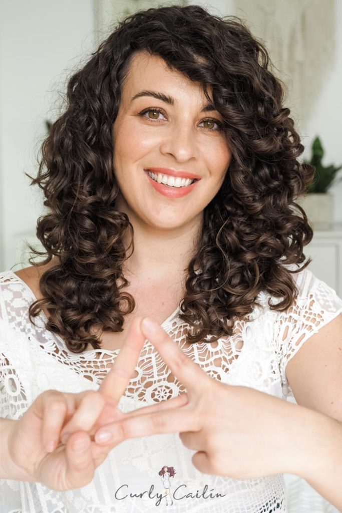 golden triangle of healthy hair curly cailin