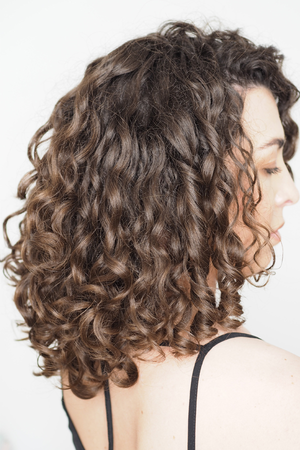 Curly Girl Method Results