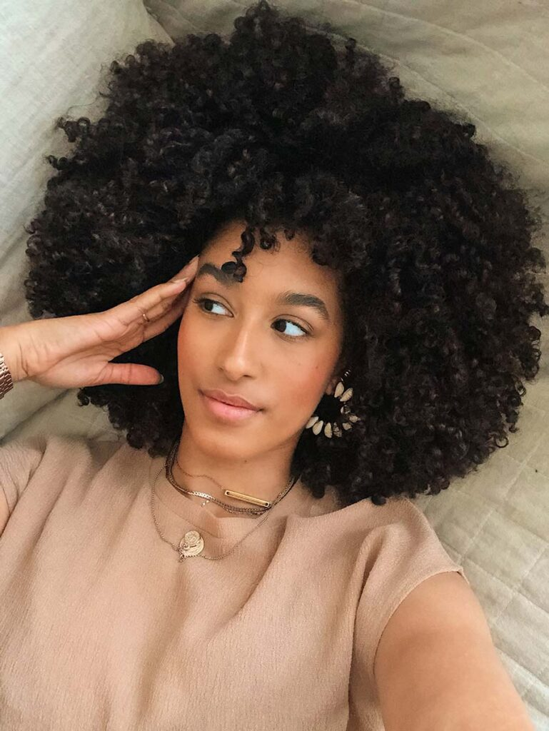 afro hair curly girl method