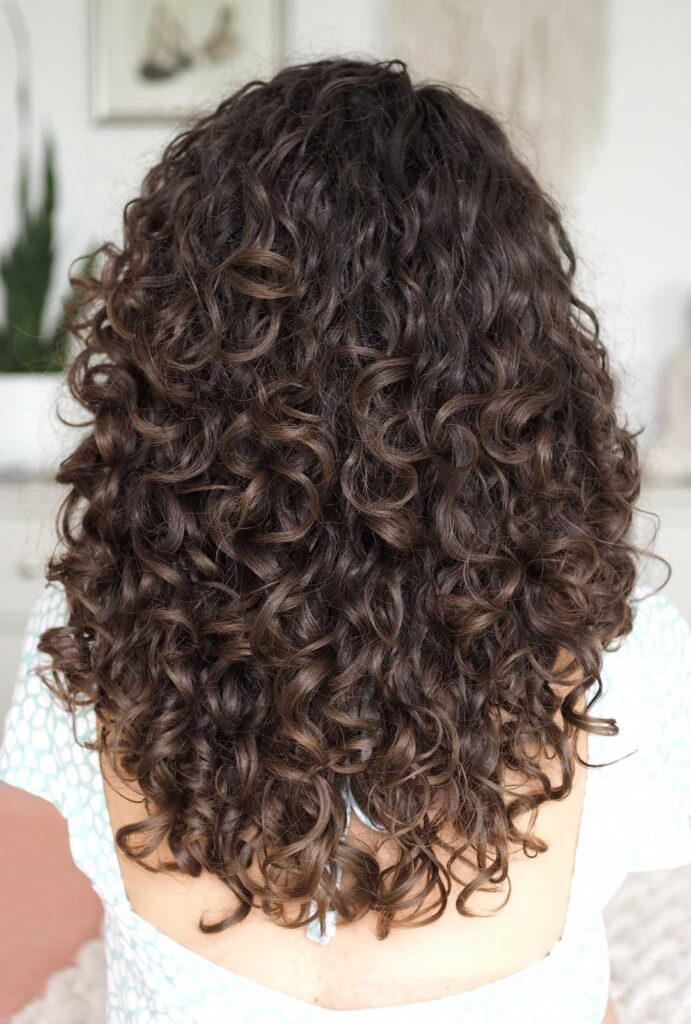 naturally dark brown thick curly hair curly cailin