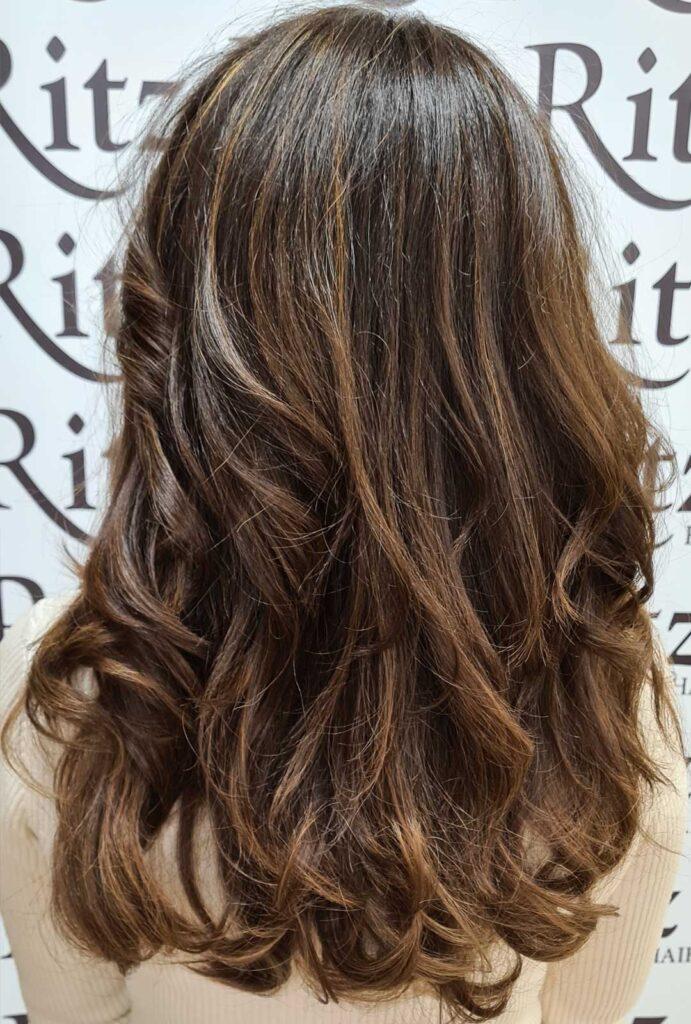 curly cailin highlights curly hair