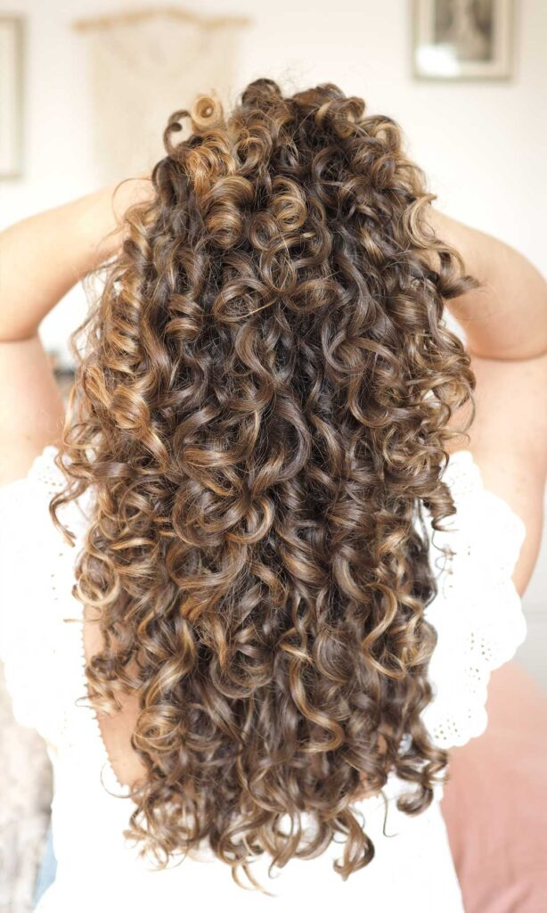 3a curls curly girl method