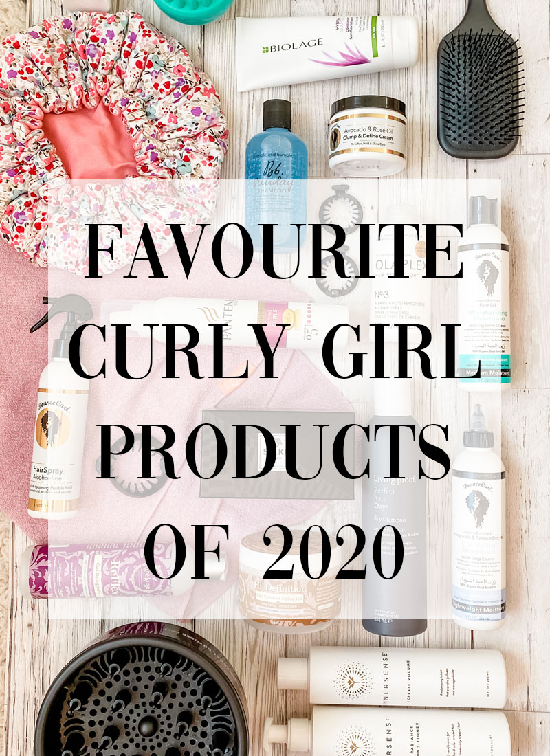 My Favourite Curly Girl Products of 2020