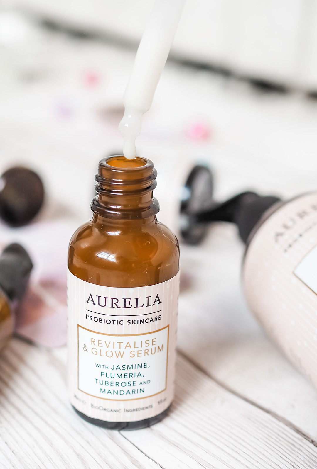 aurelia revitalise and glow serum review