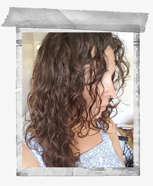 curly girl method wavy hair
