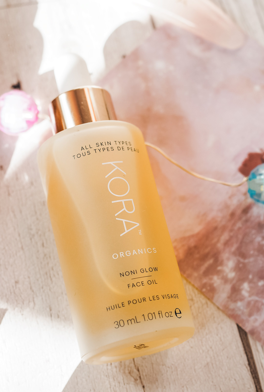 kora organics noni facial oil review