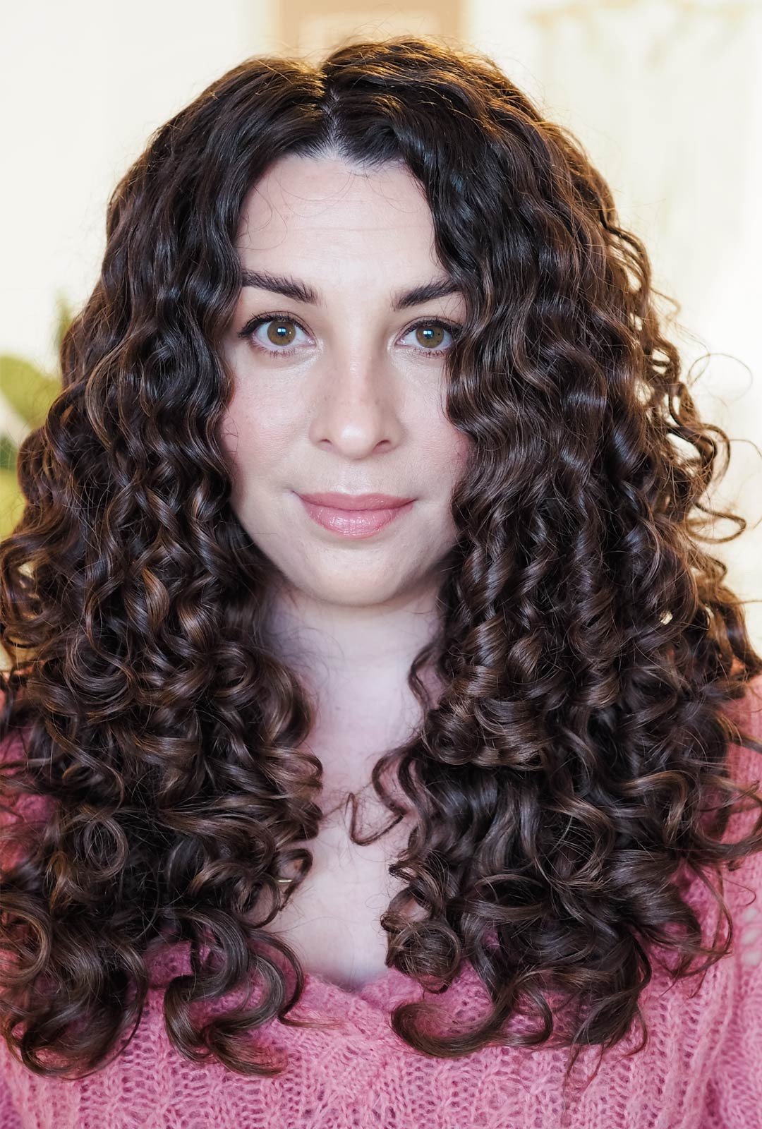 how to define curly hair