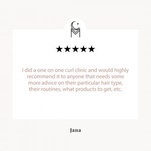 Curl consultation review by Jana