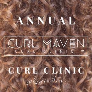 Annual Curl Clinic Subscription