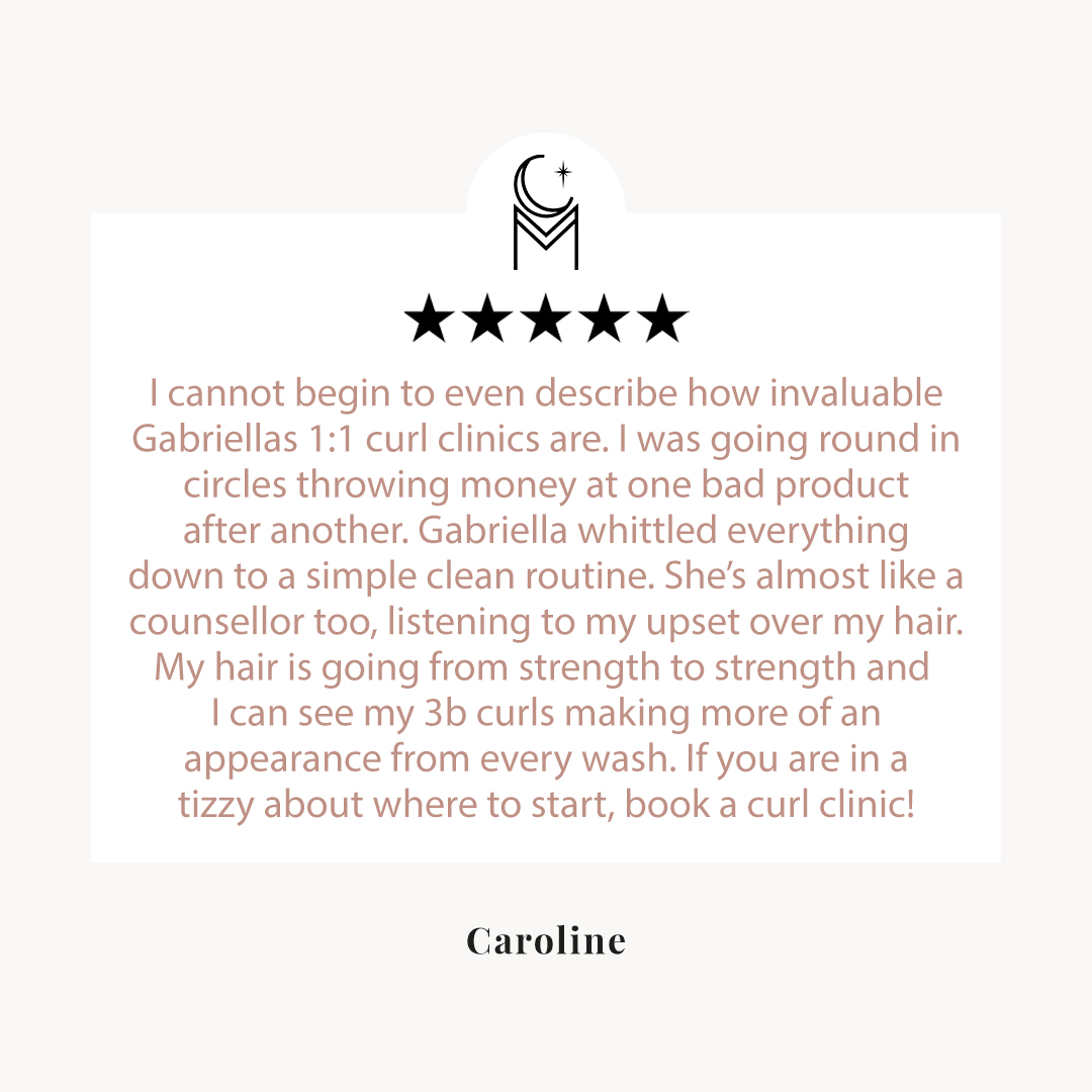 Curl consultation review by Caroline 2