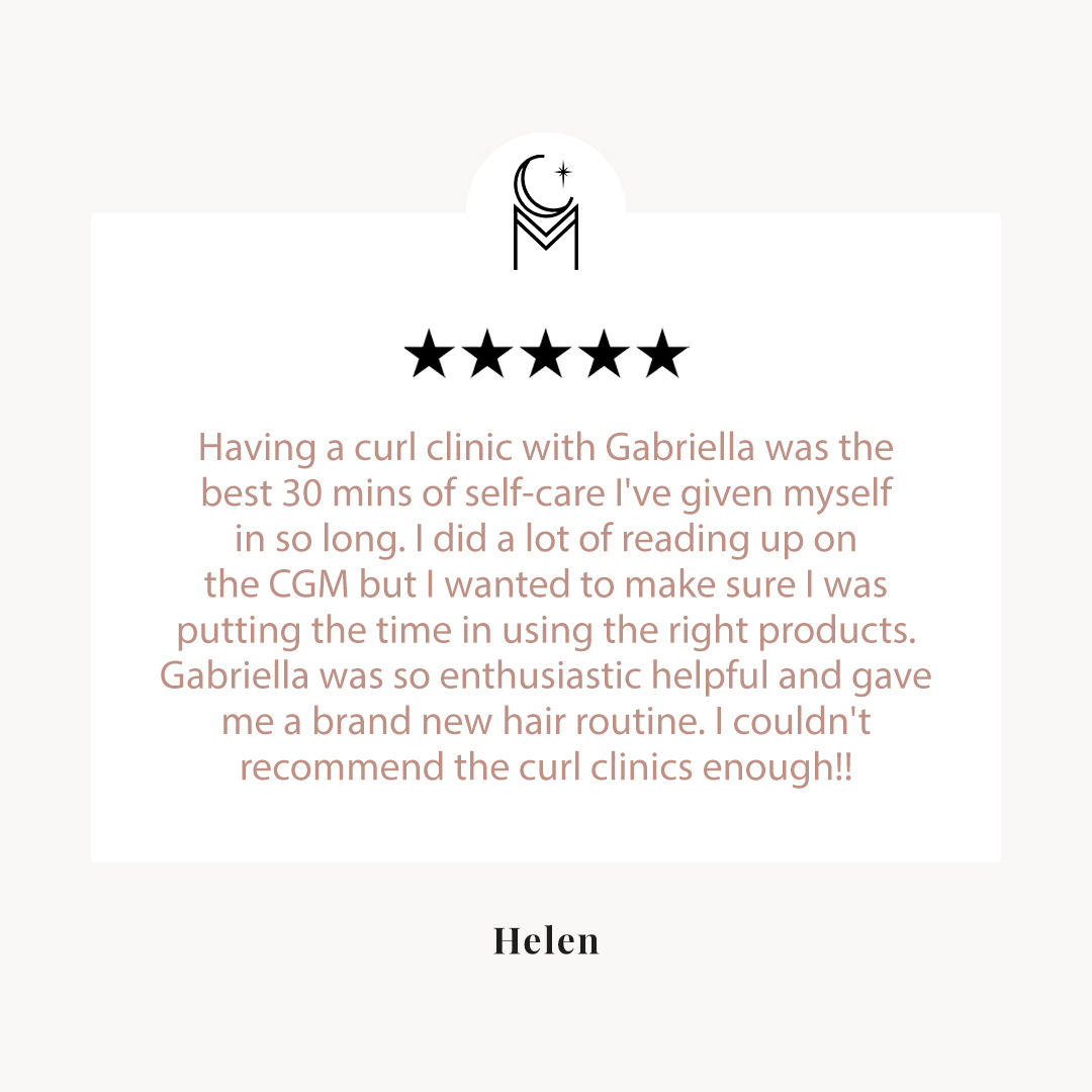 Curl consultation review by helen