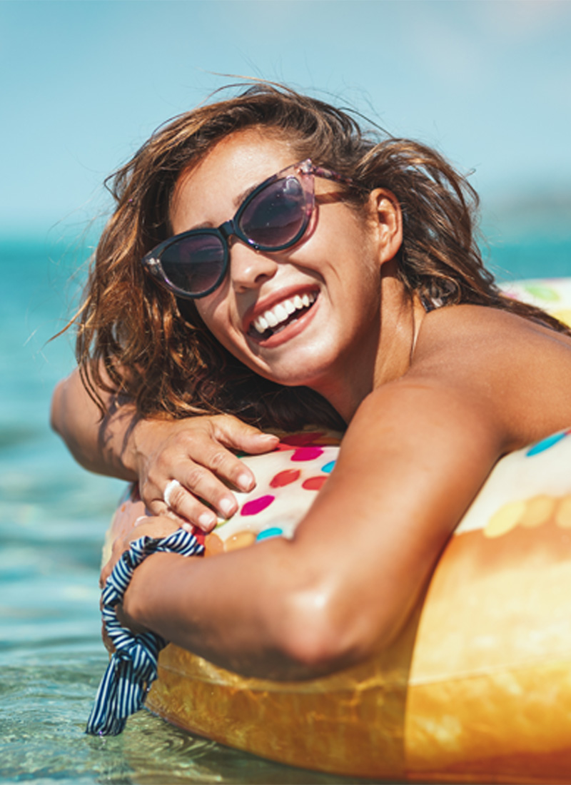 summer haircare tips for curly hair