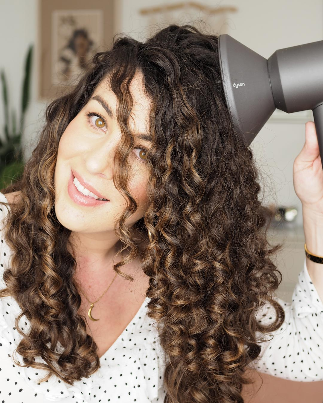 Dyson Supersonic Hair Dryer Curly Hair