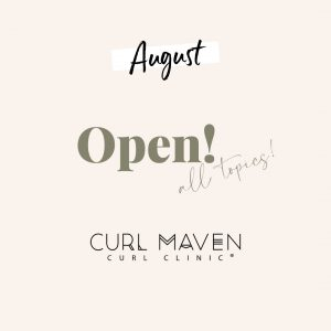 Curl Maven Monthly Curl Clinic