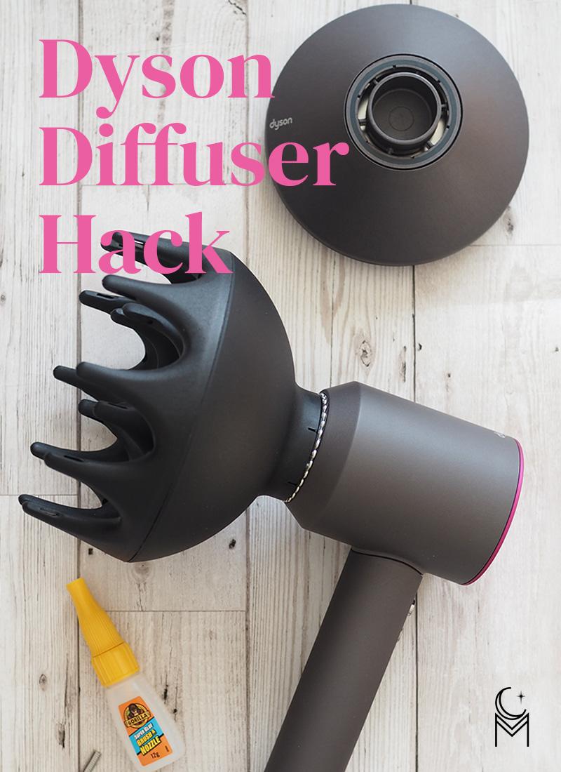 dyson diffuser hack curl maven