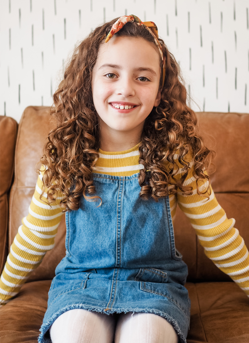 How to take care of your kids curly hair